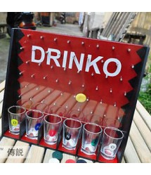 Drinko Shot Drinking Party Game with Shot Glasses