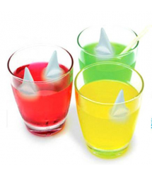 Shark Fin Ice Cubes Silicone Tray