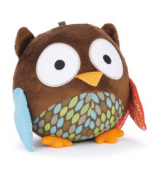 Kids & Baby Wise Owl Chime Ball Plush Toy