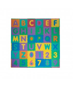 Soft Foam Baby and Kids Alphabet & Number Floor Playing Mat